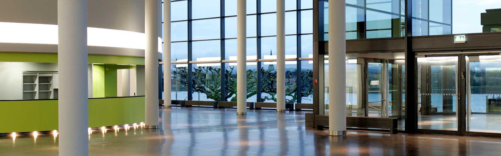 Located right on the Rhine