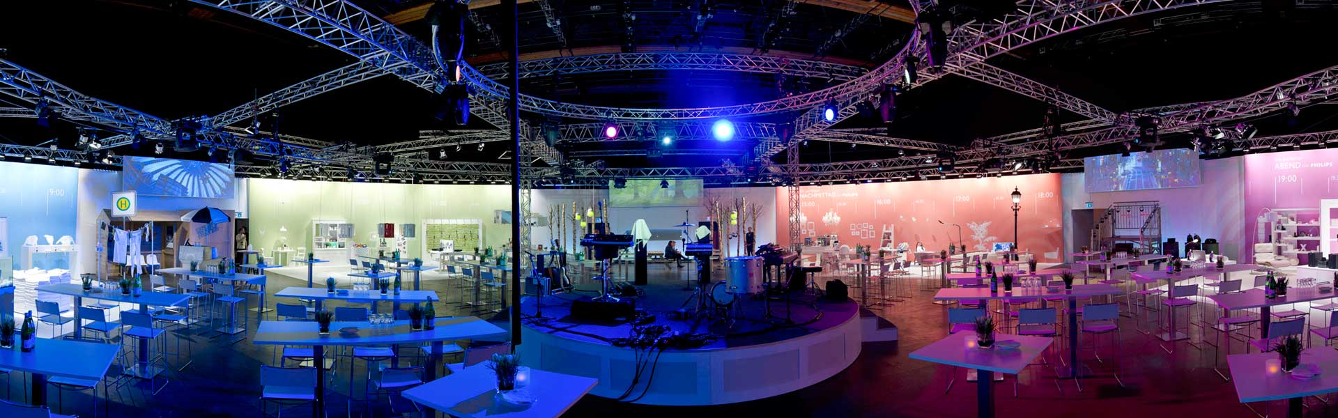 Top locations for any type of event
