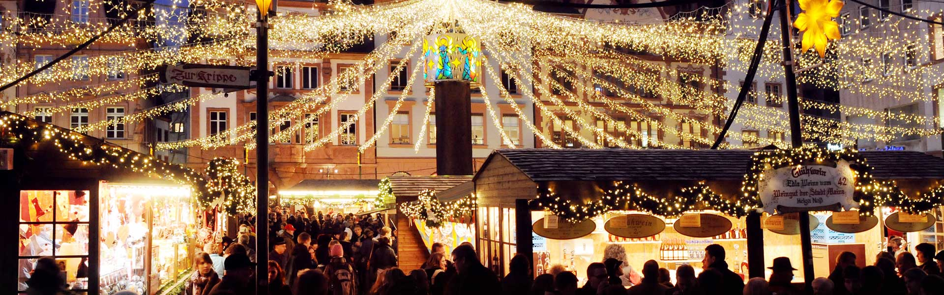 Mainz lit up for the festive season